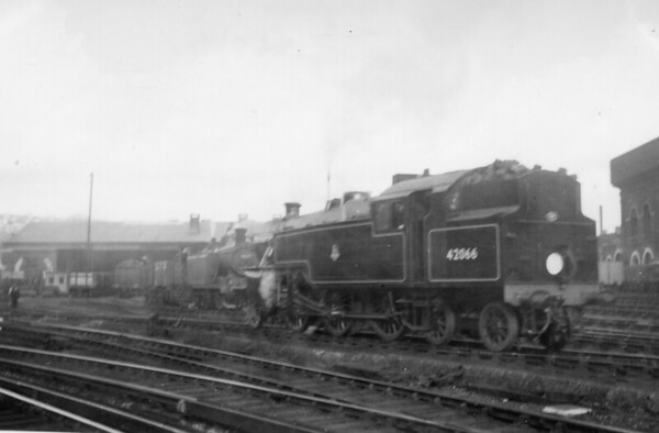42066 Brighton 14th October 1950 (4th day in traffic with B R )