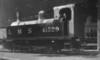 41529 unknown location c1948 Deeley Midland Railway 1528 Class 0-4-0T