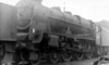 45527 Southport stabled at Skipton 28th September 1963