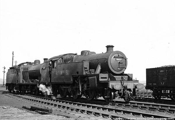2427 Barrow 12th June 1947 Stanier 2-6-4T