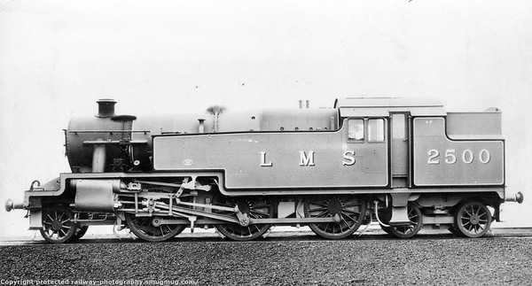 2500 Stanier 4P-E tank engines (42500-42536) for LTSR