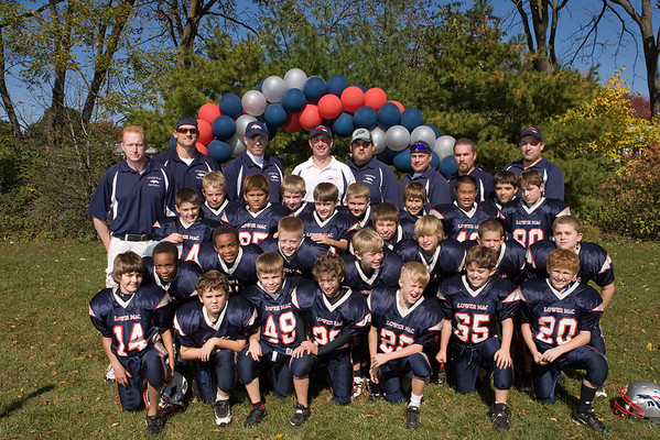Lower Macungie Youth Association (LMYA) :: 2008 90LB Football Team Photo