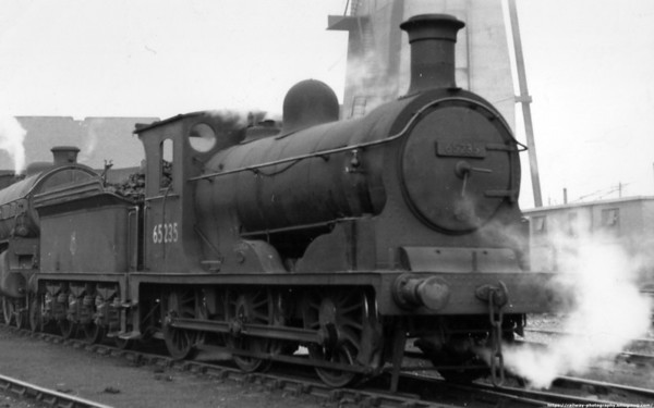 65235 Gough Haymarket shed September 1957