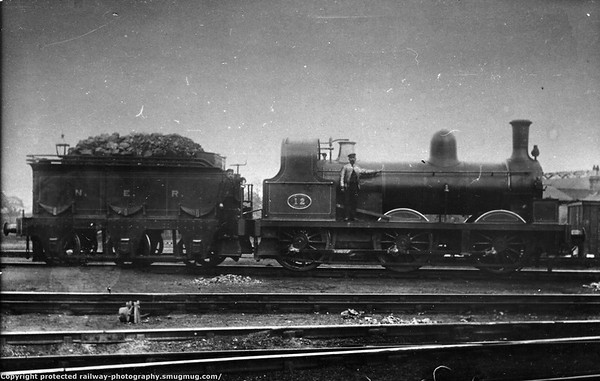 12 is a 398 class built by NER at Darlington in June 1878