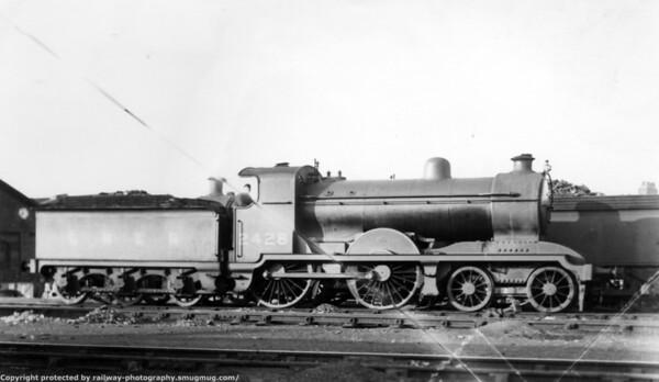 2428 Hull Botanic Gardens 21st June 1931 Mathew Stirling Class D24 (H&BR Class J) 4-4-0 Locomotives