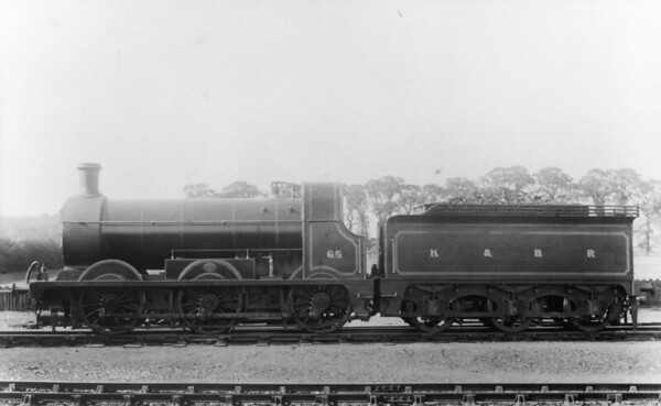 65 at Hull August 1910 M Stirling J23 (H&BR Class B) 0-6-0