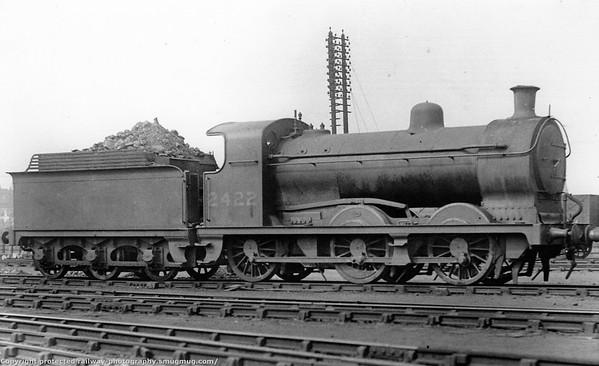 2422 Doncaster July 1935 M Stirling J28 (H&BR Class L,L1,LS) 0-6-0