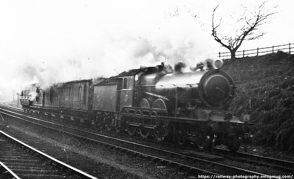 1504 Lydd to Parkeston ammunition train 17th January 1915 S D  Holden B12 (GER Class S69  1500s) 4-6-0s