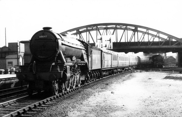 60047 Donovan Peterborough 29th October 1955 Gresley A3
