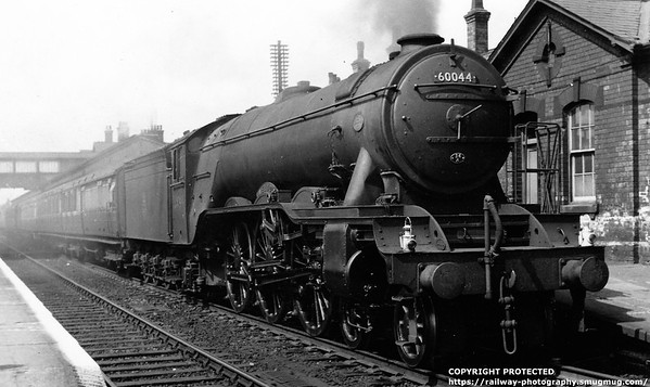 60044 Melton Grantham 4th August 1957