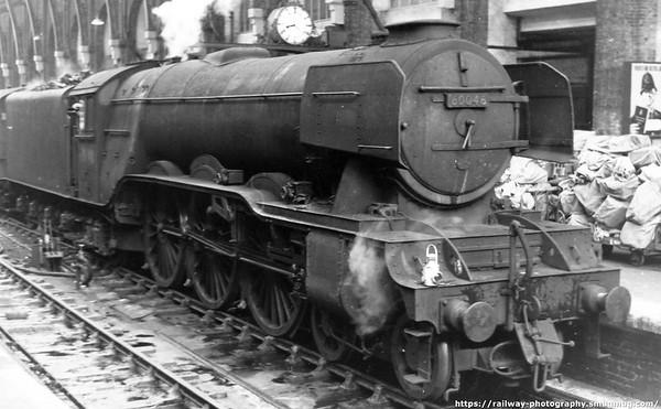 60046 Diamond Jubilee Kings Cross 'Aberdonian' 14th June 1963