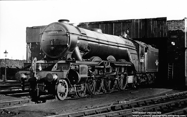 60047 Donovan Grantham Shed 14th May 1956