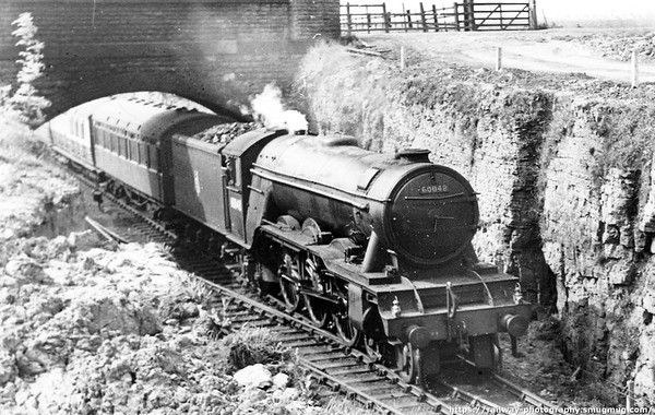 60048 Doncaster up Master Cutler Kirkby South May 1952