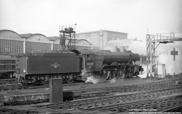 60049 Galtee More Kings Cross 5th April 1961