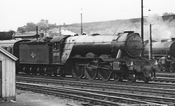 60048 Doncaster at Hitchin June 1961
