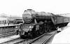 60048 Doncaster at Doncaster station c1961