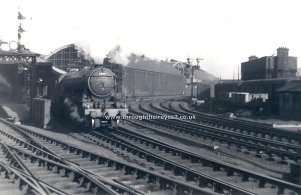 60049 Galtee more leaving Newcastle Nov 1956