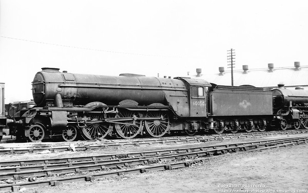 60050 Persimmon Doncaster Works 10th September 1960