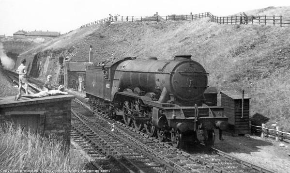60052 Prince Palatine Shildon tunnel Gresley A3