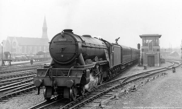 60053 Sansovino passing Doncaster South S B
