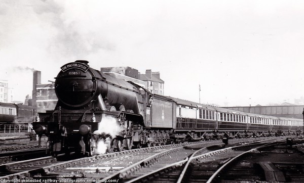 60052 Prince Palatine hauling 'The Master Cutler' Gresley A3