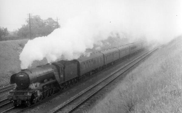 60062 Minoru south of Hitchin 22nd July 1961