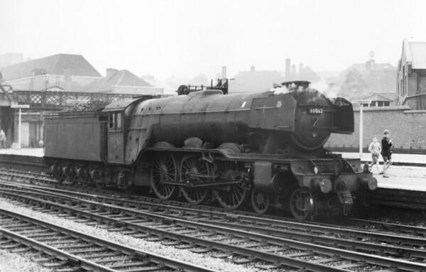 60062 Minoru Doncaster light engine 3rd August 1963