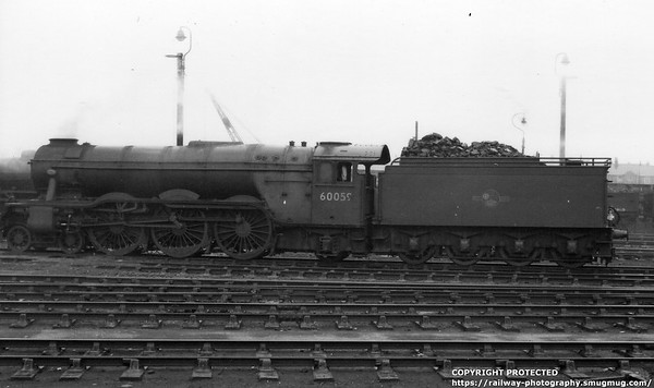 60059 Tracery Grantham 11th April 1959 Gresley A3