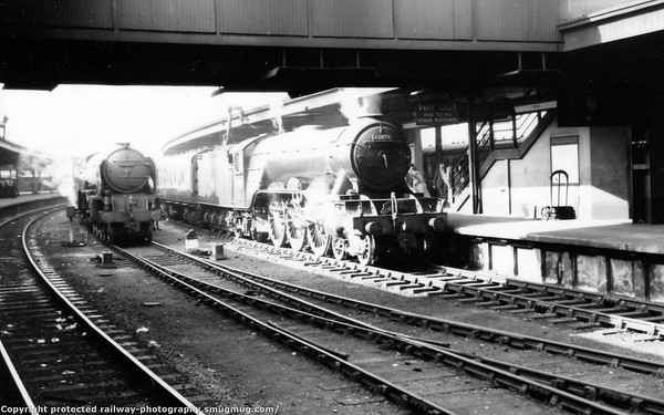 60074 Harvester+60151 York 19th August 1959
