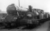 60089 Felstead alongside Y9 68101 Dunfermline shed c1956