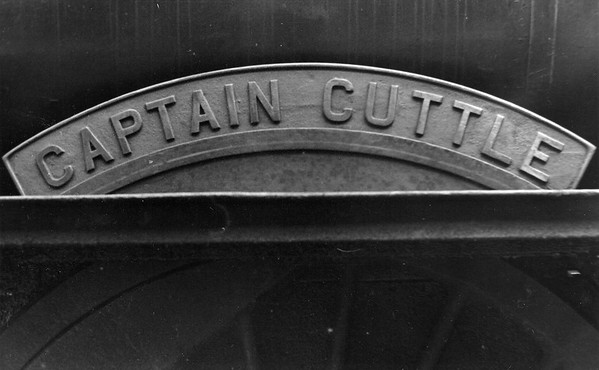 60091 Captain Cuttle nameplate