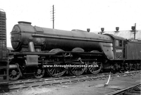 60091 Captain Cuttle Doncaster Mpd April 1960