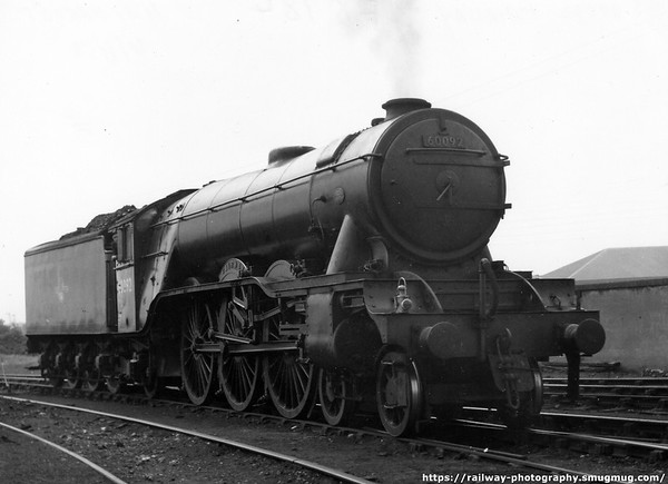 60092 Fairway Haymarket shed 31st August 1958