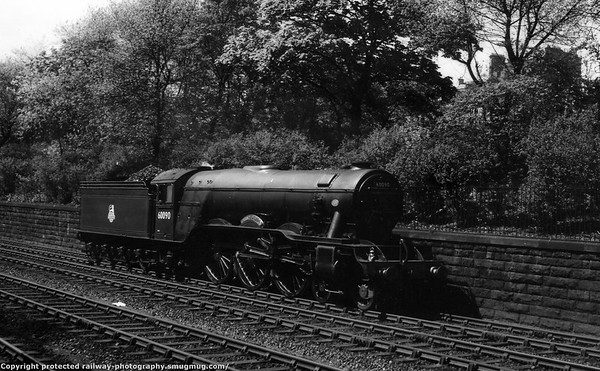 60090 Grand Parade Edinburgh Waverley Gresley A3