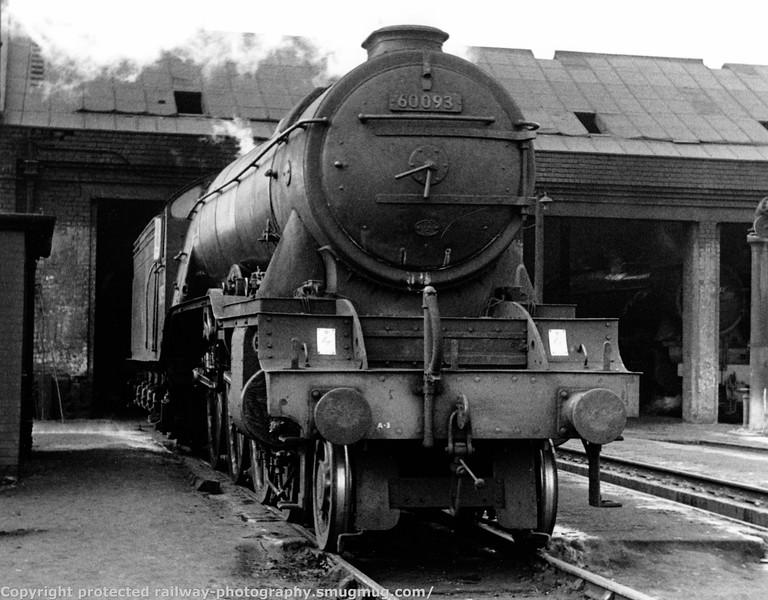 60093 Coronach Edinburgh Haymarket MPD  23rd March 1962