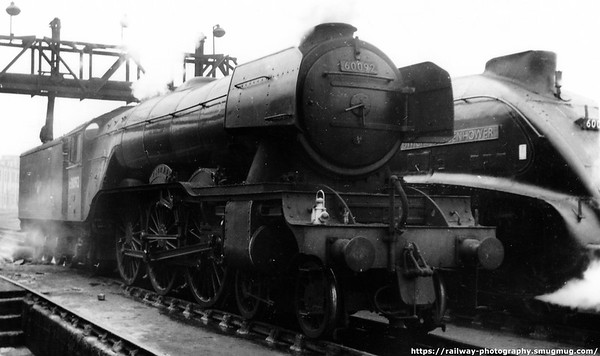 60092 Fairway Kings Cross Shed April 1962