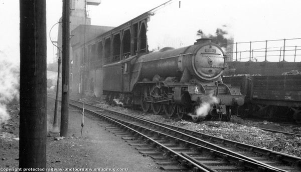 60097 Ladas Grantham shed 30th August 1959