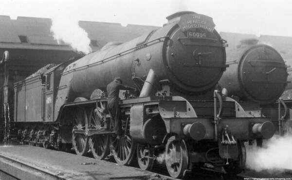 60096 Papyrus Haymarket June 1959 held the speed record for a non streamlined loco 108mph in 1937