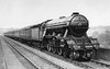 4478 Hermit up Leeds Express Welwyn Viaduct early 1930's Gresley A1