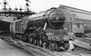 2595 Trigo leaving Newcastle with an up express August 1932 Gresley A3
