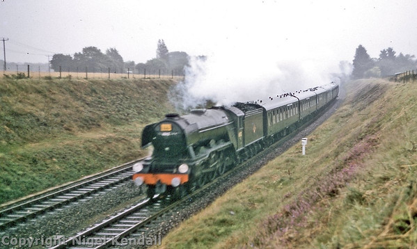 60112 St Simon Walford Southern Counties Touring Society railtour 'Southern Counties Enterprise' 25/8/1963