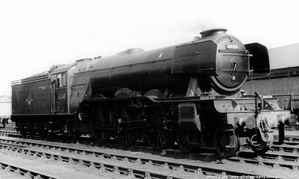 60110 Robert the Devil Kings Cross shed May 1962