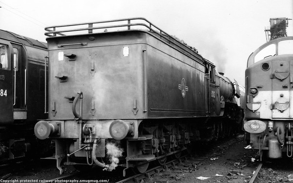 60112 St  Simon York shed 6th July 1963