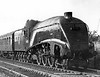 60028 south of Potters Bar 17th May 1952 Gresley A4