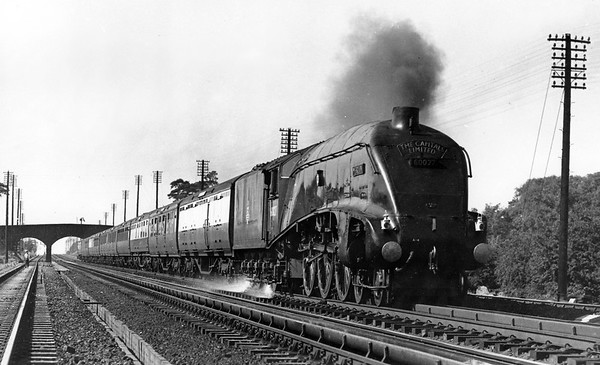 60027 Merlin Up 'The Capital Limited' Langley Troughs 30th June 1952