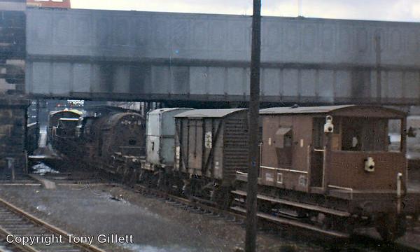 60027 Merlin boiler Preston July 1966