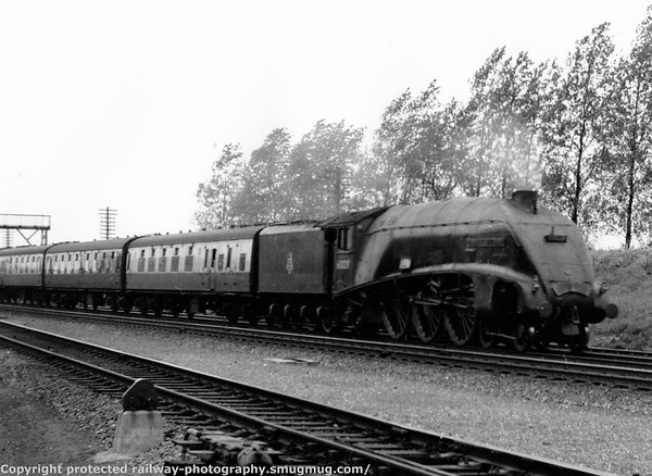 60028 Walter K  Whigham Potters Bar 19th August 1957