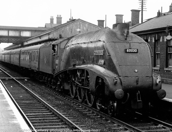 60030 Golden Fleece Grantham 2nd July 1960
