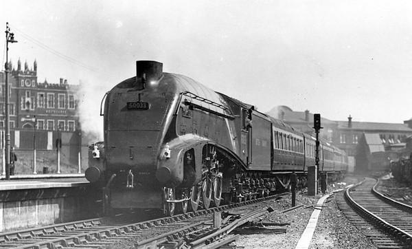 60033 Seagull Westbourne Park (GWR) 28th April 1948 down test train