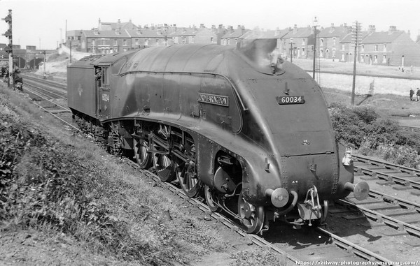 60034 Lord Faringdon Doncaster 20th August 1960